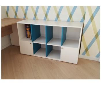 Детская мебель стол и шкаф