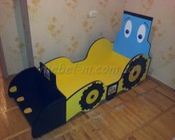 Детская кровать Трактор