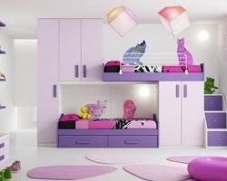 Комплекс детской мебели с двухъярусной кроватью в Киеве