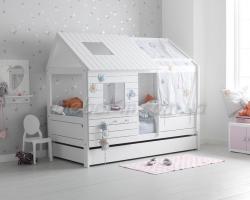 Детская кровать домик Антон