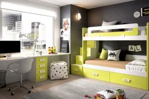 Двухъярусная детская кровать для подростков