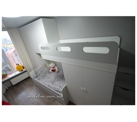 Детская комната двухъярусная кровать