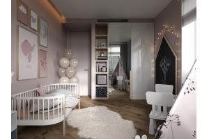Детская комната из дерева Вигвам