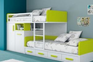 Двухъярусная кровать на заказ Киев