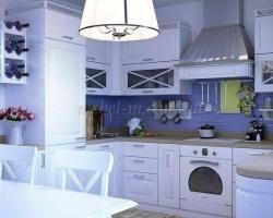 Светлая кухня на заказ