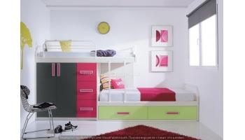 Двухъярусная детская кровать - Дуэт