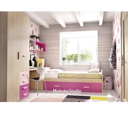 Детская комната Бабочка для девочек