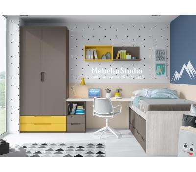 Детская комната для мальчика - Умник