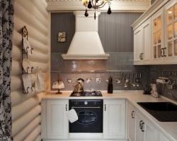 Кухня классика из дерева белая