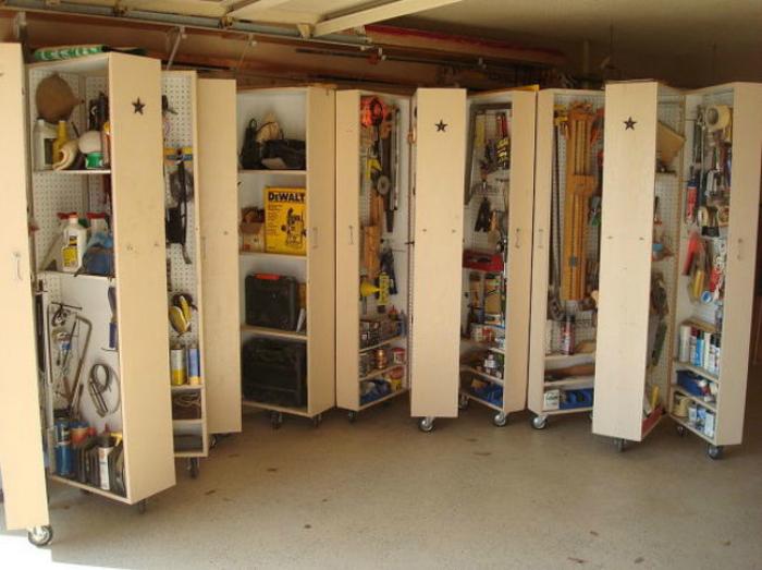 Порядок в гараже фото